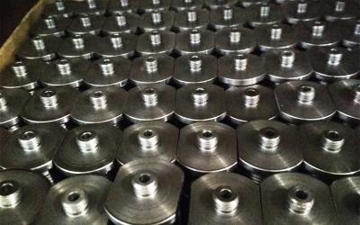 Фрезерная обработка лысок на металлических деталях