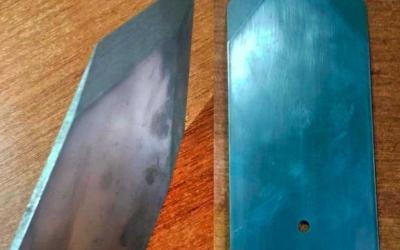 Плоская шлифовка и заточка ножей