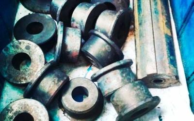 Термообработка стальных пуансонов и шлицевого вала