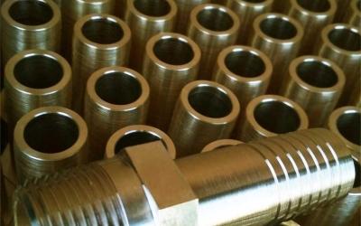 Токарная обработка чпу серия штуцеров из латуни