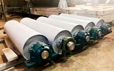 Приводной барабан для ленточного конвейера