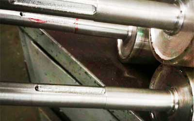 Фрезерная обработка шпон паза