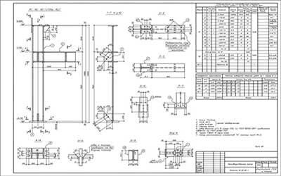 Разработка чертежей деталей на заказ
